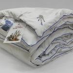 """Всесезонное стеганое одеяло из бамбука """"Лаванда Антистрес"""""""""""