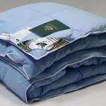 всесезонное пуховое кассетное одеяло Витаминный Коктейль-100% гусиный пух. Nature's (Натурес), Россия