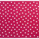 Горошек Dots Fuchsia (розовый). Детский акриловый ковер. Состав 100 акрил. Производство ТМ «Lorena Canals» , Испания