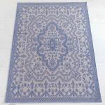Интерьерный ковер «HILDA» голубойбежевый. 100% хлопок. ТМ «Luxberry» («Люксберри»), Португалия