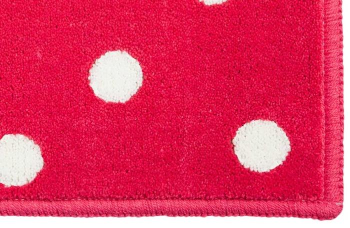 Ковер-акриловый-Горошек-Dots-Fuchsia-(розовый)-2