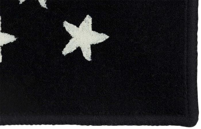 Ковер-акриловый-Звезды-Stars-Navy-(синий)-2