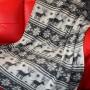 Шерстяной вязаный плед «Лапландия». Плед из 100% овечьей шерсти. Производитель ТМ «Magicwool», Россия