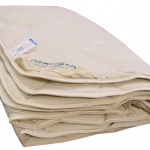 Одеяло Верблюжка теплое. 100 верблюжья шерсть. ТМ Лежебока, Россия