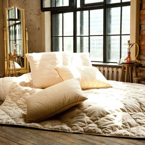 Одеяло верблюжий пух. «Сон Шахерезады» . Всесезонное стеганое одеяло. Производство NATURE'S (Натурес) Россия