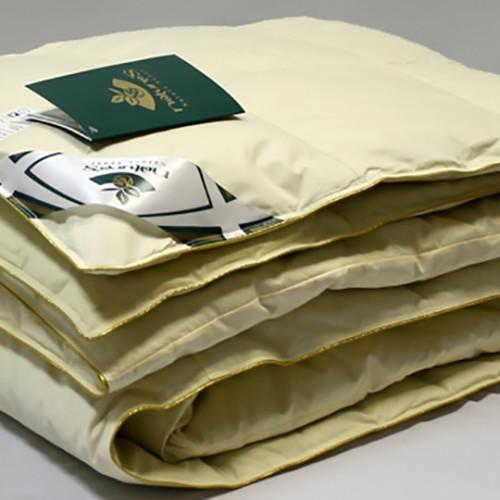 всесезонное пуховое кассетное одеяло Медовый Поцелуй гусиный пух Natyre's (Натурес), Россия