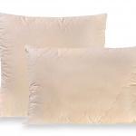 Подушка стеганая регулируемая «ЛЕН ХЛОПОК». Наполнитель 50% лен 50% хлопок. Ткань хлопок (перкаль). Производство Россия, ТМ «Лежебока»