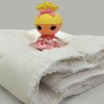 детское всесезонное пуховое кассетное одеяло Пуховое Облако - элитный белый пух. Nature's (Натурес), Россия