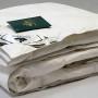 всесезонное пуховое кассетное одеяло Серебряная Мечта-100% гусиный пух Nature's (Натурес), Россия