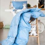 Серый Гусенок Детское пуховое одеяло. Всесезонное пуховое кассетное одеяло. Серый гусиный пух, мелкое перо. Производство ТМ «Серафимовская Пушинка», Россия
