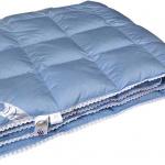 Нежность. Всесезонное пуховое кассетное одеяло. Одеяло 50% гусиный пух, 50% перо. Одеяло пуховое «Серафимосвская Пушинка», Россия