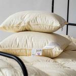 «Ретро». Пуховая подушка элитный белый пух, мелкое перо. ТМ «Серафимовская Пушинка», Россия