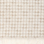 Жаккардовое покрывало EASY LIFE натуральный. Состав 100% хлопок. ТМ «Luxberry» («Люксберри»), Португалия