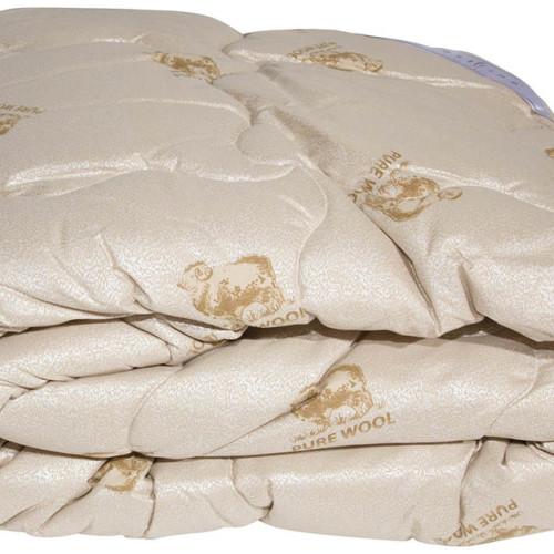 Одеяло овечья шерсть «Pure Wool»