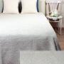 Жаккардовое покрывало ILIA голубой. Состав 100% хлопок. ТМ «Luxberry» («Люксберри»), Португалия