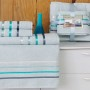 Комплект махровых полотенец KARNA BALE (Ментол) 50x80 см (2шт) -70х140 (2 шт). Состав 100% хлопок. Производство ТМ «Karna» (Карна), Турция