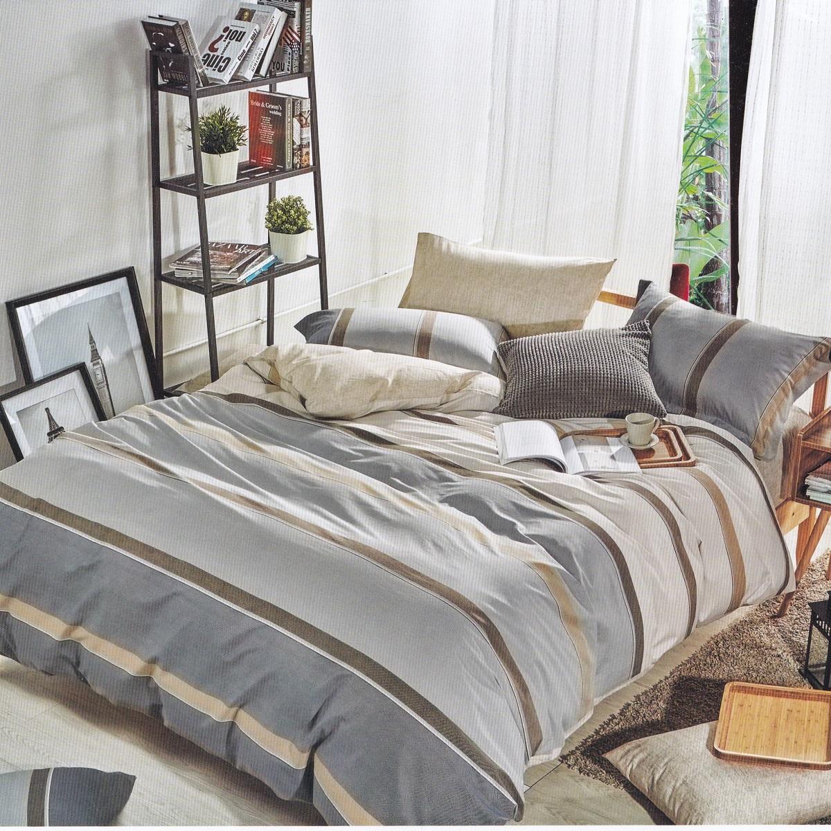 Постельное белье Сатин «KARNA» DELUX «FLOKSY». Комплект 1.5-спальный (160х220см.): пододеяльник 160х220см (1), простынь 160х230см (1), наволочки 50х70см (2). Ткань: сатин. Состав: 100% хлопок. Производство ТМ «KARNA» («Карна»), Турция