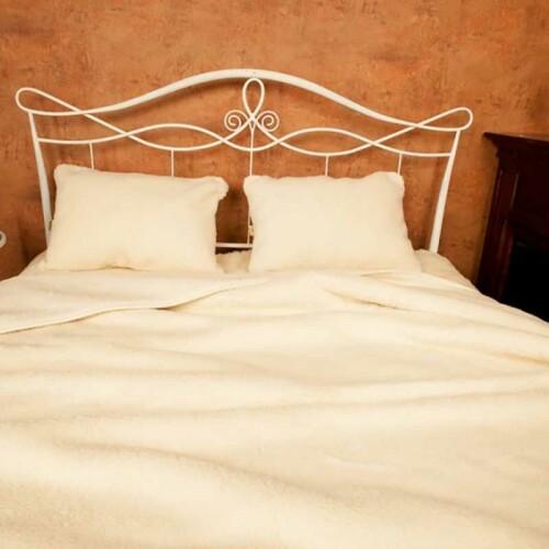 Одеяло Меринос Локон двойное. Шерстяное тканое одеяло 100% шерсть мериноса. ТМ Magicwool (Монарх), Россия