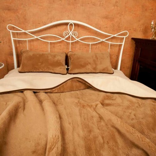 Одеяло Верблюд Капучино Шоколад. Шерстяное тканое одеяло. 30% верблюжий пух, 70% открытая шерсть мериноса. ТМ Magicwool (Монарх), Россия