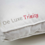Подушка пуховая «De Luxe-Trinity medium» белый гусиный пух. Производитель ТМ Kauffmann (Кауфман), Германия