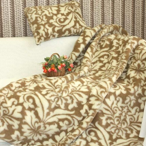 Детский шерстяной плед «Гармония» 100х140см. Плед из 100% шерсти мериноса. Производитель: ТМ «Magicwool», Россия