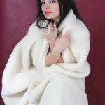 Детский шерстяной плед «Меринос Эскимо» 100х140см. Плед из 100% шерсти мериноса. Производитель: ТМ «Magicwool», Россия