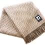 Шерстяной плед с кистями «Incalpaca PBA-9″ 150х200см. Плед 55% шерсть альпака, 45% шерсть мериноса. Производитель ТМ «Incalpaca» («Инальпака»), Перу
