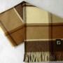 Шерстяной плед с кистями Incalpaca PP-29. Плед 55% шерсть альпака, 45% шерсть мериноса. Производитель ТМ Incalpaca (Инальпака), Перу