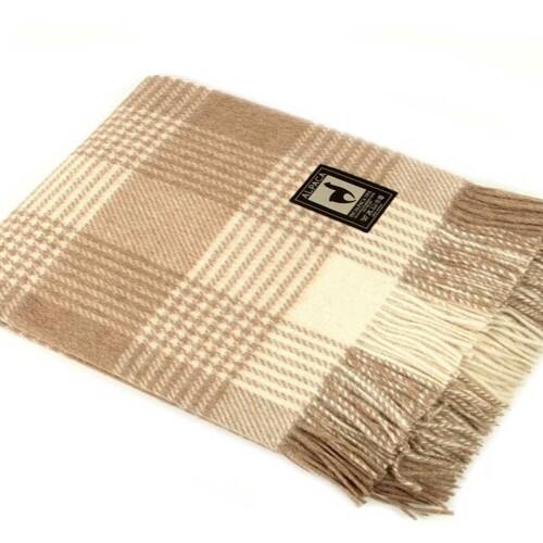 Шерстяной плед с кистями Incalpaca PP-65. Плед 55% шерсть альпака, 45% шерсть мериноса. Производитель ТМ Incalpaca (Инальпака), Перу