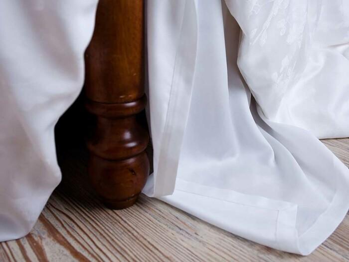 Постельное белье « White Palette Grass». Ткань  сатин. Состав 40% хлопок, 60% TENCEL (тенсель)®. Производство ТМ «German Grass» («Герман Грасс»), Австрия