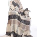 Шерстяной плед с кистями «Freja-2005». Плед 100% исландская овечья шерсть. Производитель ТМ Freja, Исландия