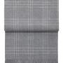 Шерстяной плед с кистями 6101 SUPERIOR light grey white. 100 шерсть беби альпака перу. Производитель ТМ Elvang, Дания