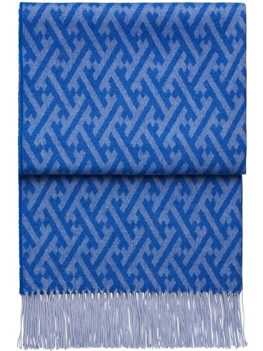 Шерстяной плед с кистями 6141 AMAZING pacificatlantic. 100  шерсть беби альпака перу. Производитель ТМ Elvang, Дания