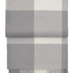 Шерстяной плед с кистями 6160 WHISPER flint greycream. 100 шерсть беби альпака перу. Производитель ТМ Elvang, Дания