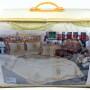 Упаковка. Покрывало жаккард BADE (пудра) ТМ Karna (Карна), Турция