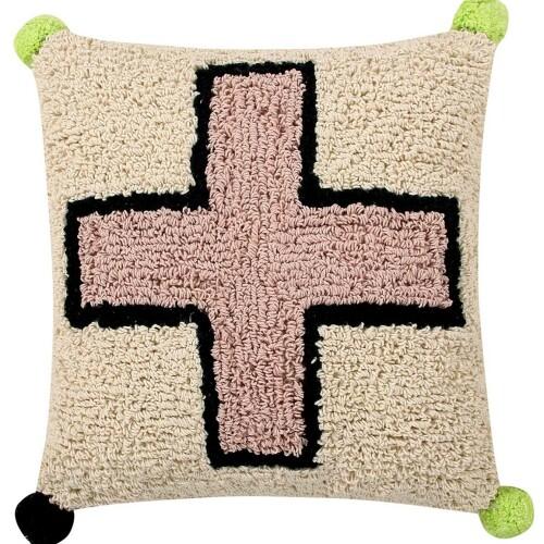 Подушка детская декоративная Крест. 100 хлопок. Lorena Canals, Испания
