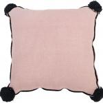 Подушка детская декоративная Квадратная розовая. 100 хлопок. Lorena Canals, Испания