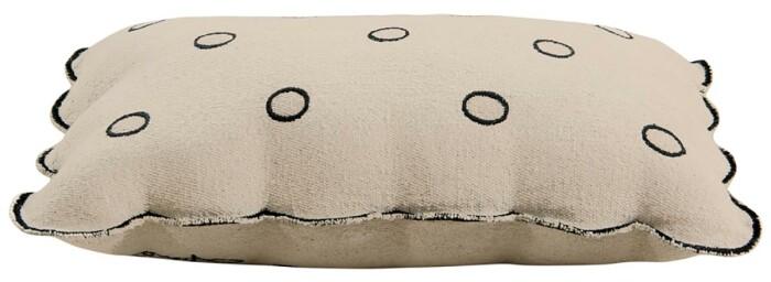 Подушка детская декоративная  Печенька. 100 хлопок. Lorena Canals, Испания