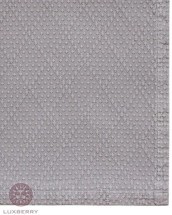 CROSS (серый). Покрывало 100% хлопок.  Производство Luxberry (Люксберри), Португалия