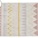 Детский стираемый ковер «Ацтекский Azteca Natura» винтажный бежевый. Состав 100% хлопок. Производитель ТМ «Lorena Canals» , Испания