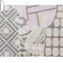 Детский стираемый ковер «Индийский Indian Bag» серый-розовый. Состав 100% хлопок. Производитель ТМ «Lorena Canals» , Испания