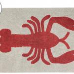 Детский стираемый ковер «Лобстер» бежевый. Состав 100% хлопок. Производитель ТМ «Lorena Canals» , Испания