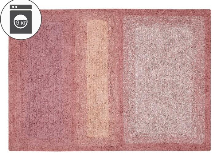 Детский стираемый ковер «Водный каньон» розовый. Состав 100% хлопок.  Производитель ТМ «Lorena Canals» , Испания
