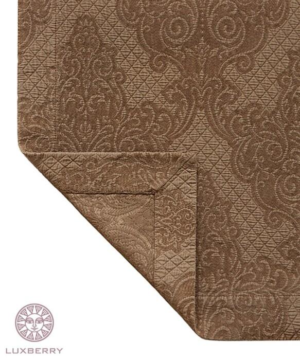LOUVRE (бронзовый). Покрывало 100% хлопок.  Производство Luxberry (Люксберри), Португалия