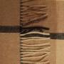 Мягкий шерстяной плед с кистями «GobiT-147». Плед 50% Монгольский верблюжий пух, 50% овечий пух. Бренд «Gobit». Страна производства Монголия