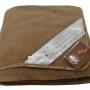 Одеяло Верблюд Капучино Коричневый-1. Шерстяное тканое одеяло. 30% верблюжий пух, 70% открытая шерсть мериноса. ТМ Magicwool (Монарх), Россия