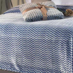 Плед-покрывало «LEIPER Namibe azul». 100 полиэстер. Производство ТМ «LEIPER», Португалия