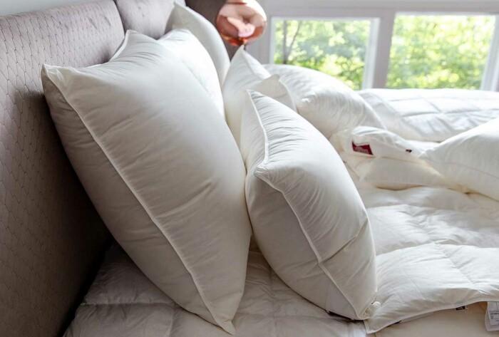 Подушка пуховая «Cloud Down Grass» подушка пуховая мягкая. 100% белый гусиный пух. Производство ТМ German Grass (Герман Грасс), Австрия