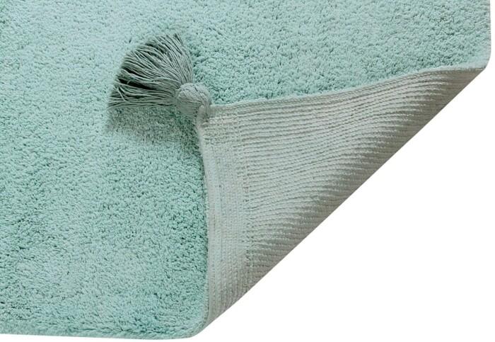 Детский стираемый ковер «Градиент Ombre» изумрудный. Состав 100% хлопок.  Производитель ТМ «Lorena Canals» , Испания