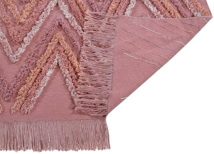 Детский стираемый ковер «Земной каньон» розовый. Состав 100% хлопок.  Производитель ТМ «Lorena Canals» , Испания